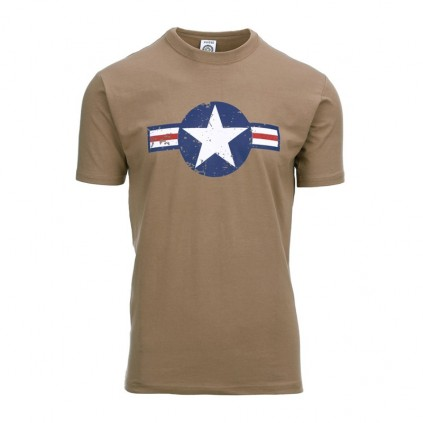 T-skjorte - Fostex - USAF WW 2 - Desert