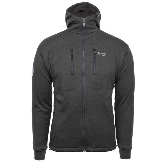 Antarctic jakke m/hette - Brynje - Koksgrå