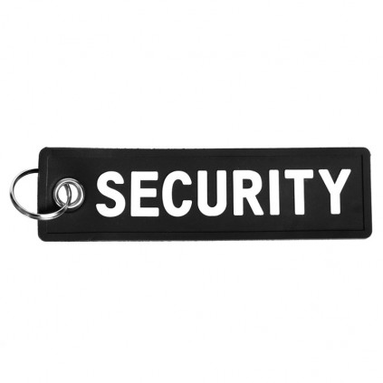 Nøkkelring - Security - Sort