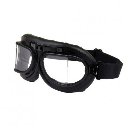Flyverbriller - Royal Air force Flyer Goggles - Sort