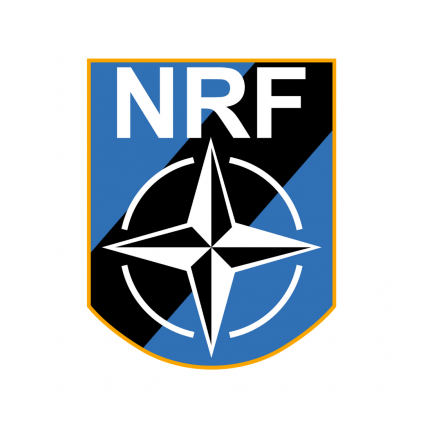 Patch - NRF - NATO Response Force - Borrelås