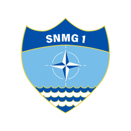Patch - SNMG 1 - NATO - Borrelås