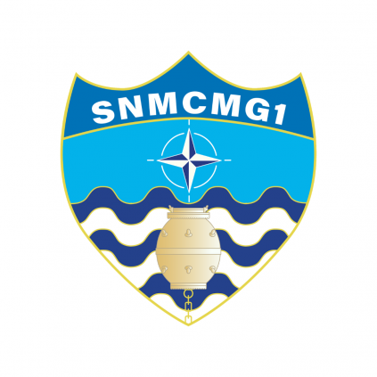 Patch - SNMCMG 1 - NATO - Borrelås