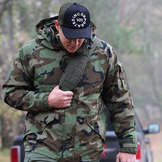 Militær parkas - M65 - 101 INC - Sort