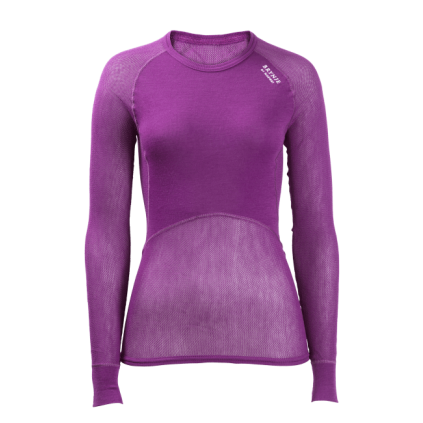 Wool Thermo Light overdel - Dame - Brynje - Lilla