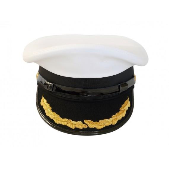 Uniformslue - Hufa - Enkelt broderi