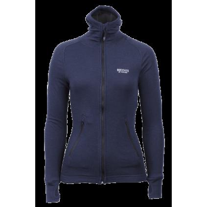 Arctic Jacket m/ hette - Dame - Brynje - Marineblå