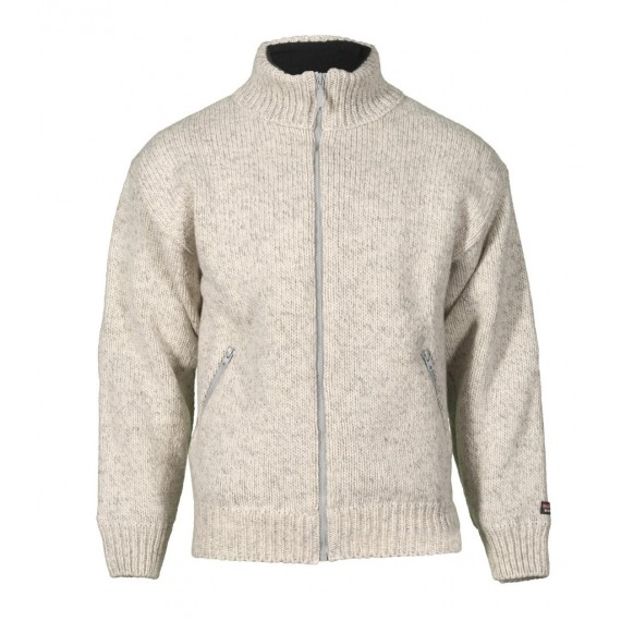 Jakke 100% ull - Bråtens - Lys grå