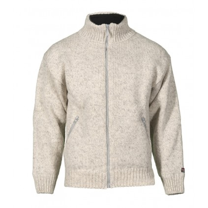 Jakke 100% ull - Nansen - Lys grå