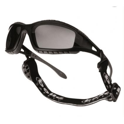 Taktiske vernebriller med hodebånd - sotet glass - BOLLÉ® TRACKER