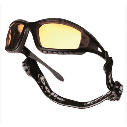 Taktiske vernebriller med hodebånd - Gult glass - BOLLÉ® TRACKER