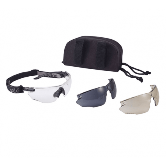 Taktiske briller - 3 typer glass - BOLLÉ® COMBAT