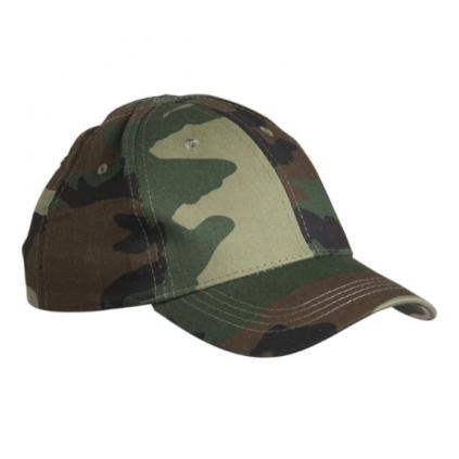 Baseball caps til barn - Kamuflasje - Grønn
