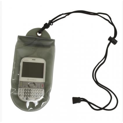 Vanntett mobilpose / lommebok - 100 x 230mm - Nakkestropp - Grønn - Miltec