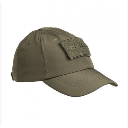 Caps - Softshell Baseball - Grønn - Miltec