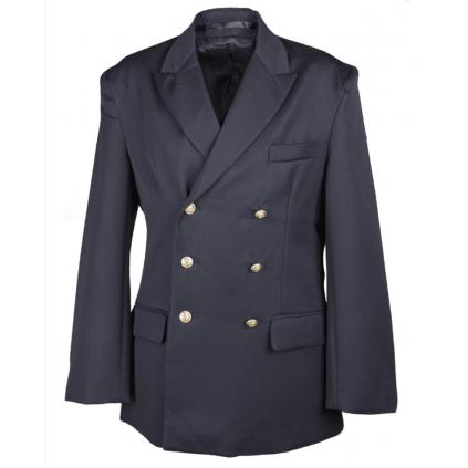 Uniformjakke - marine jakke - reder blazer - Blå