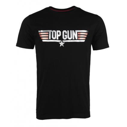 T-skjorte - Top Gun - Sort - Paramount - Miltec