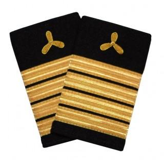 Maskinsjef - Maskinmester - Skipsfart maskin - 4 striper - Distinksjoner