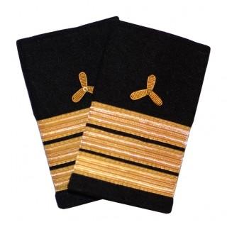 Førstemaskinist - Skipsfart maskin - 3 striper - Distinksjoner