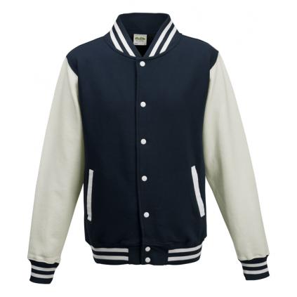 College jakke - Varsity - Marineblå / hvit