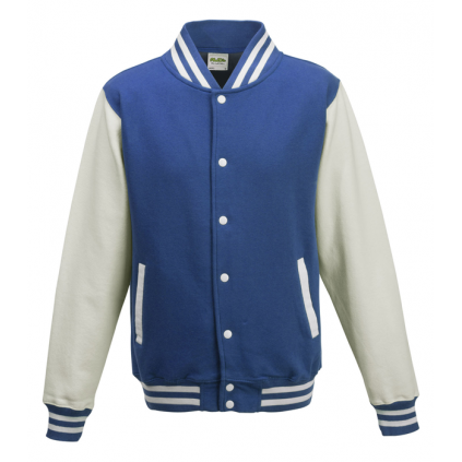 College jakke - Varsity - Kongeblå / hvit