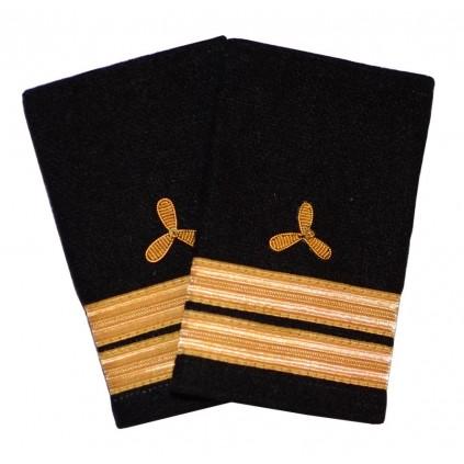 Annenmaskinist - Skipsfart maskin - 2 striper - Distinksjoner