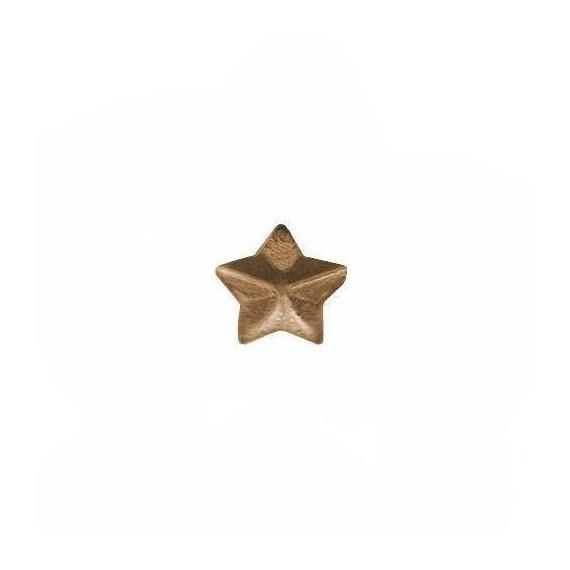 Stjerne - Bronse - 3,2 mm