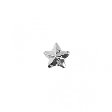 Stjerne - Sølv - 3,2 mm