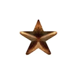 Stjerne - Bronse - 7,9 mm
