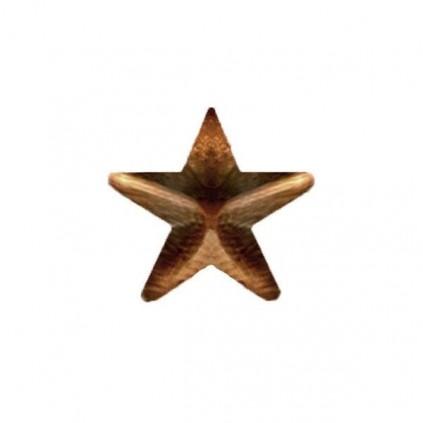 Stjerne - Bronse - 4,8 mm