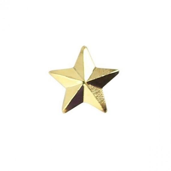 Stjerne - Gull - 4,8 mm