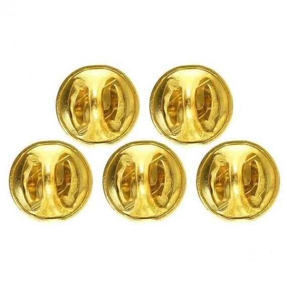 Bakside/lås for pins - 5 pk