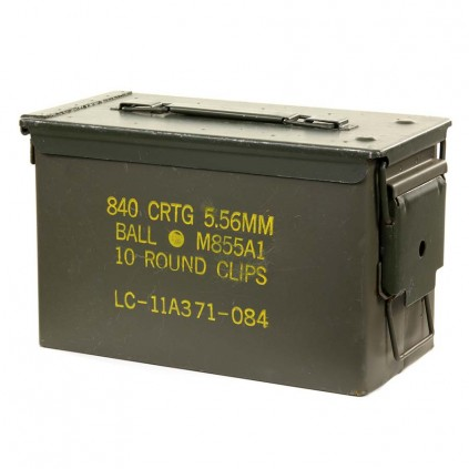 Ammoboks - 50 kaliber - Original