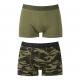 2-pakk - Top Gun - Boxer Shorts - Grønn / Kamuflasje