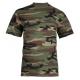 T-skjorte for barn - Kamuflasje - Miltec