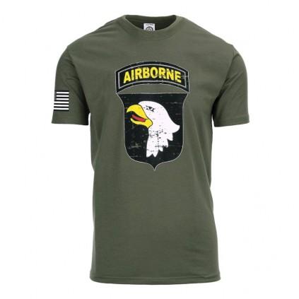 T-skjorte - Airborne - Grønn - Fostex