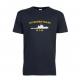 T-skjorte - KV BARENTSHAV - Marineblå - Bomull