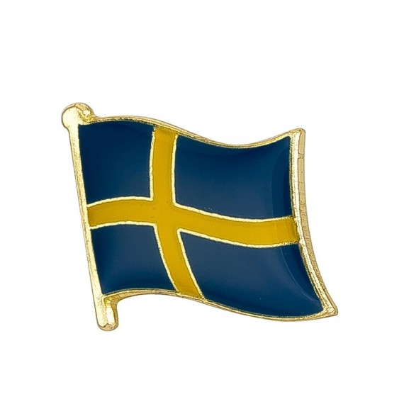 Pins - Flagg - Sverige