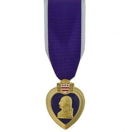 Miniatyrmedalje - USA - Purple Heart