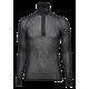 Wool Thermo Light Polo shirt m/ glidelås - Brynje - Svart