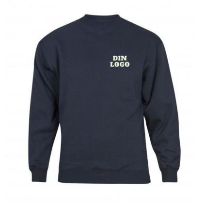 College genser - Profilering - Valgfri farge og trykk