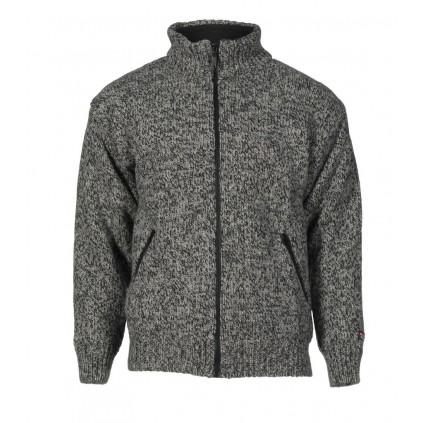 Jakke 100% ull - Nansen - Mørk grå