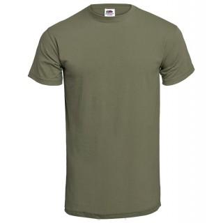T-skjorte - Olivengrønn - Bomull