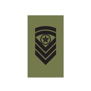 OR7 - Sjefsersjant - Hæren felt