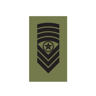 OR9 - Sjefsersjant - Hæren felt