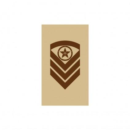 OR6 - Sjefsersjant - Hæren og Luftforsvaret ørken