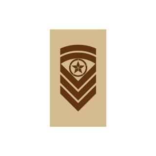 OR7 - Sjefsersjant - Hæren og Luftforsvaret ørken