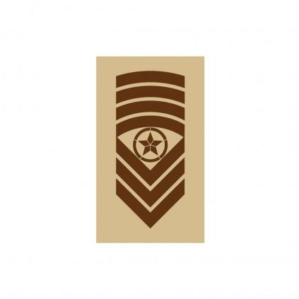 OR9 - Sjefsersjant - Hæren og Luftforsvaret ørken