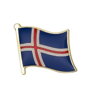 Pins - Flagg - Island
