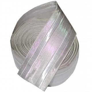 45 mm - Sølvbånd - Tresse